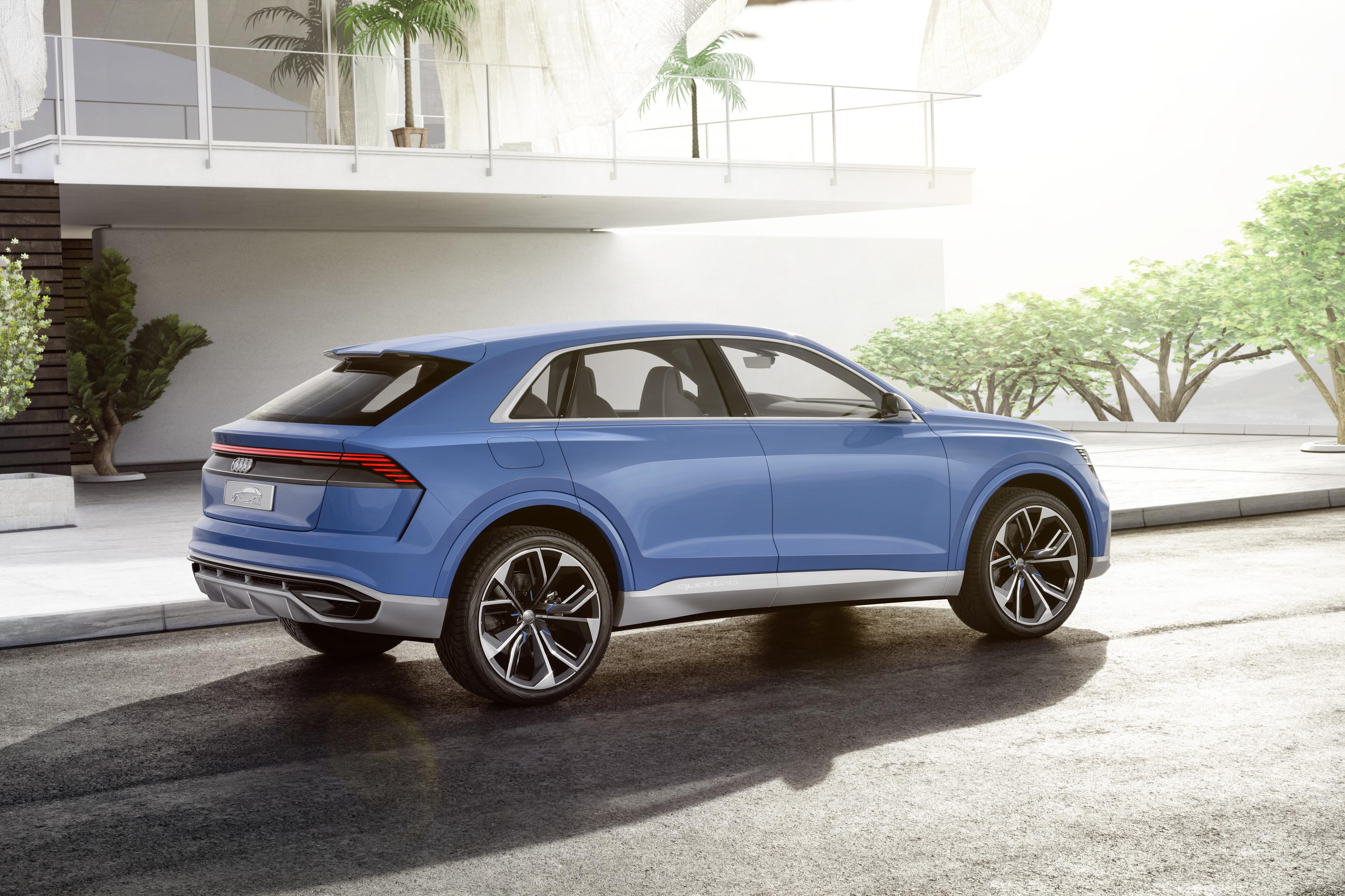 Oberklasse-SUV im Coupé-Design: Audi Q8 concept - Autoexklusiv Dortmund